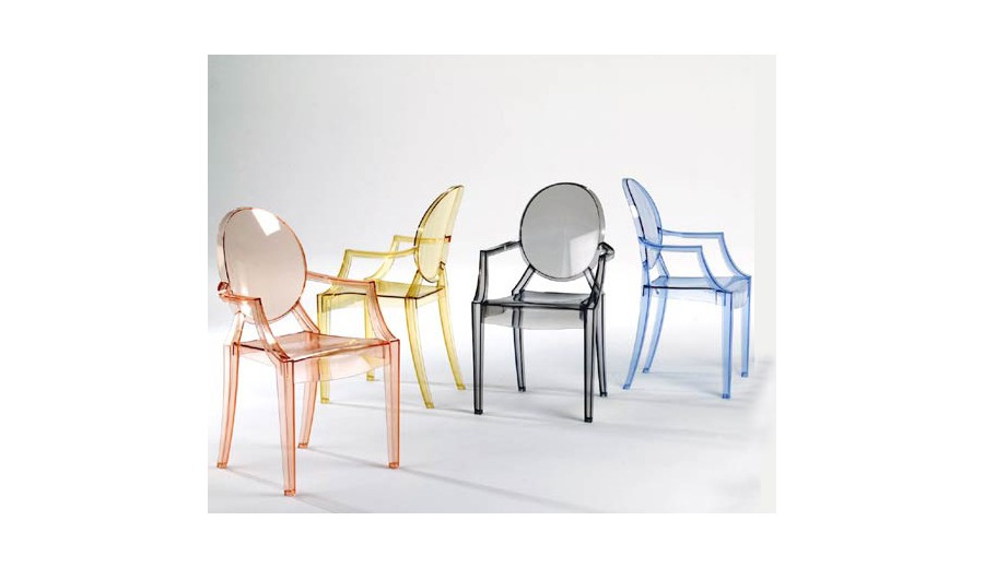 New Product of Philippe Starck's New Product of Philippe Starck's Check Out the New Product of Philippe Starck's kartell louis ghost multicolor 2