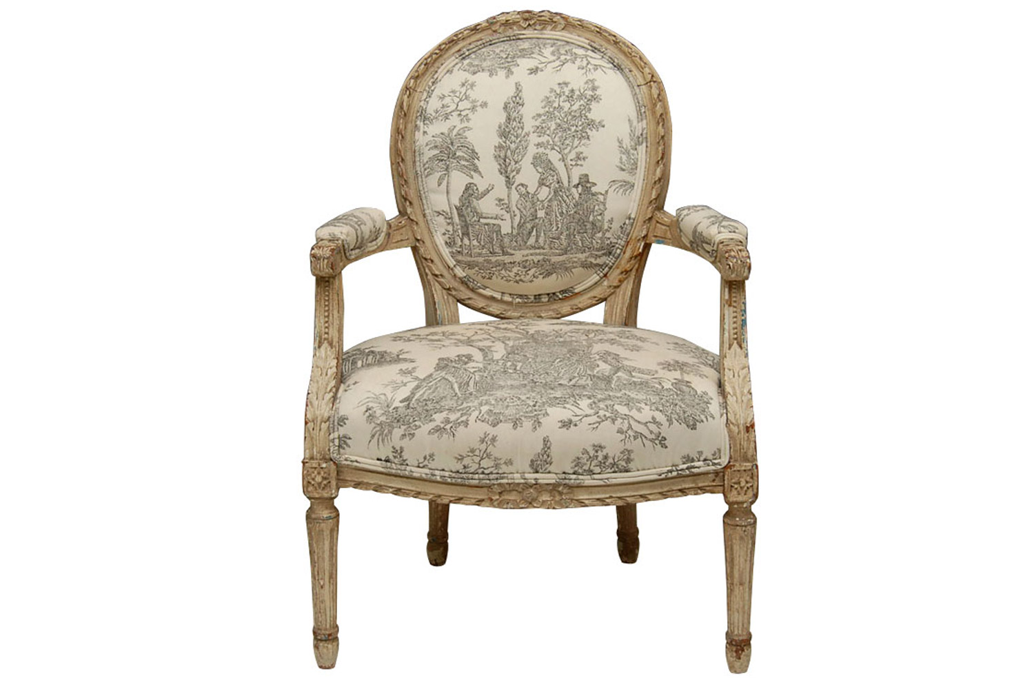 New Product of Philippe Starck's New Product of Philippe Starck's Check Out the New Product of Philippe Starck's louis xvi style painted fauteuil chair