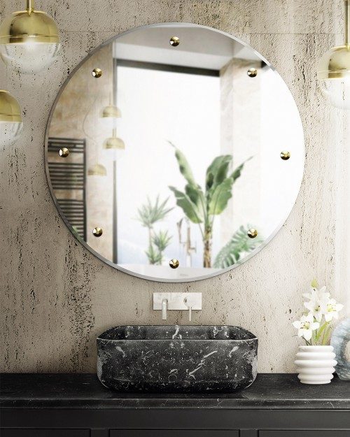 a-mix-of-textures-on-the-bathroom:-koi-rectangular-vessel-sink-and-glimmer-mirror