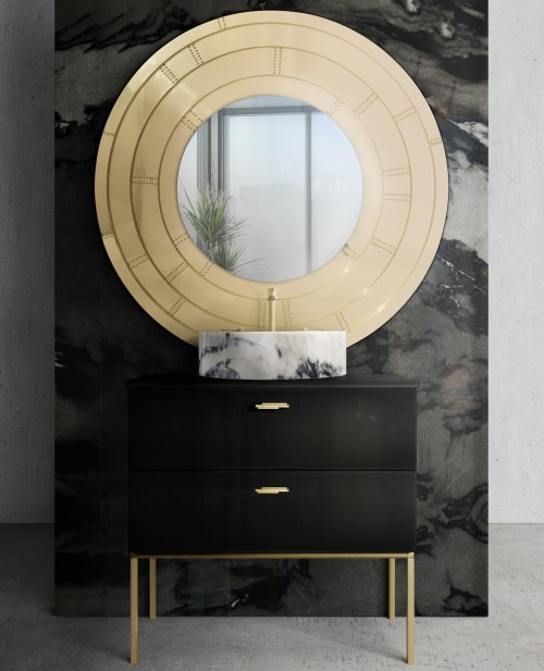 blaze-mirror-is-the-central-piece-of-black-and-golden-bathroom