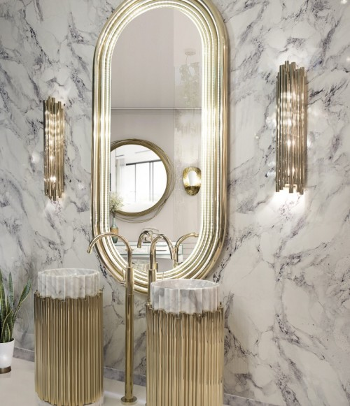 blissful-marble-bathroom-with-colosseum-mirror-and-symphony-freestand