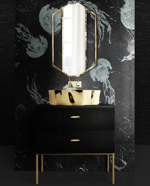 bold-design-for-guest-bathroom-with-sapphire-mirror-and-eden-vessel-sink