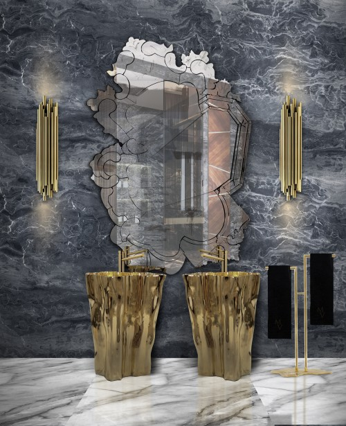 colored-bluestone-wall-with-golden-contrast-vanity-furniture-