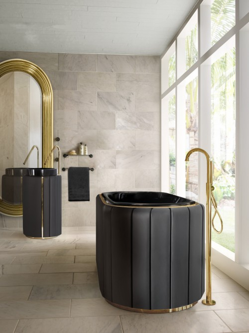 comfortable-master-bathroom-with-leather-darian-bathtub-and-freestanding