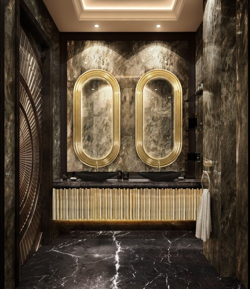 contemporary-bathroom-with-colosseum-mirror-and-symphony-washbasin