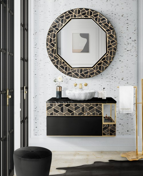 guest-bathroom-with-tortoise-suspension-cabinet-and-tortoise-mirror