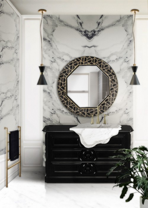 hotel-bathroom-interior-design-with-petra-freestanding-and-tortoise-mirror