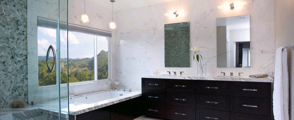 Modern bathroom inspiring ideas_Claudia Interior Design0
