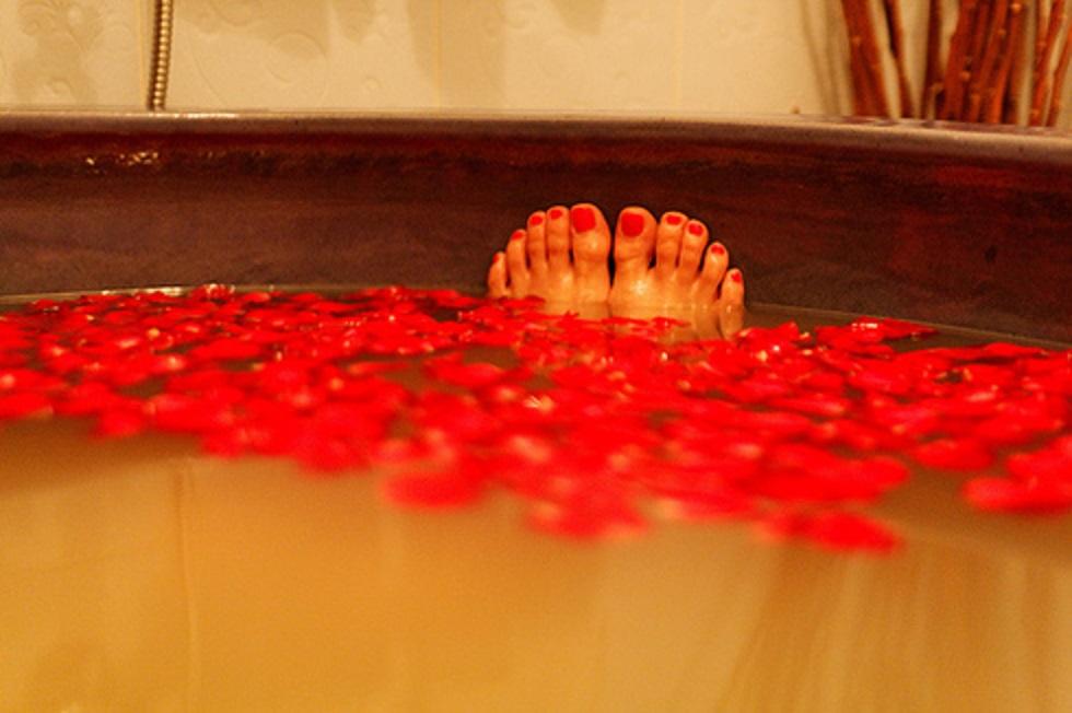 Valentine's day Take the best bath in Valentine's day banho