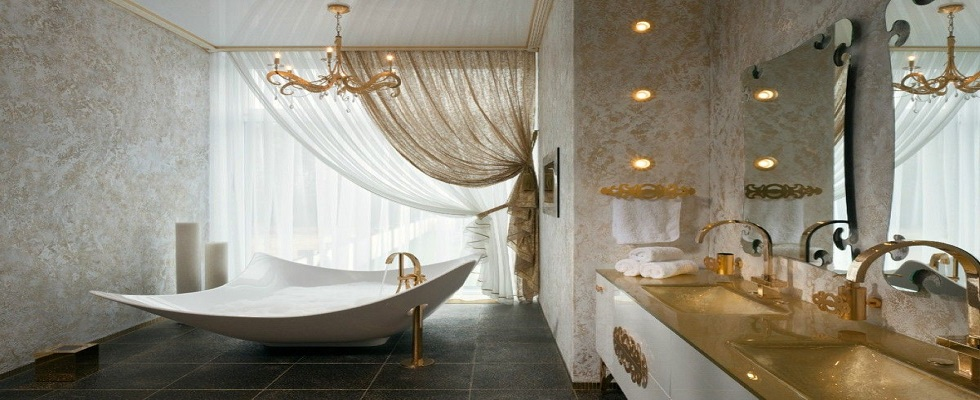 GOLD FOR YOUR BATHROOMS COVET
