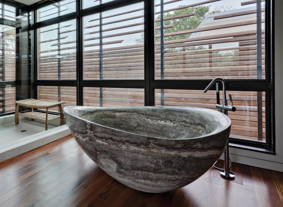LUXURY BATHUBS IN LUXURY BATHROOMS: STONE FOREST PapillonBathtub