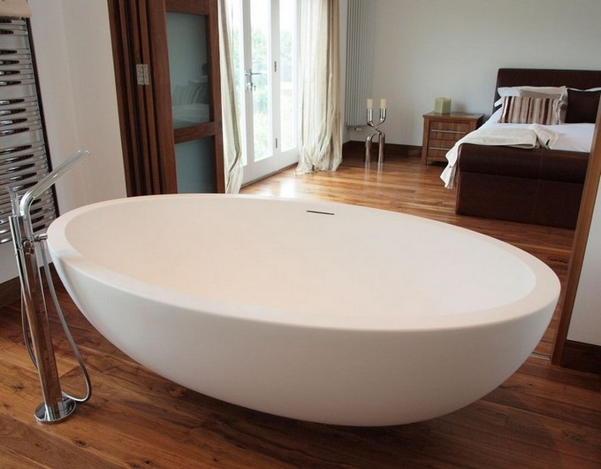 oval bathtubs Improve Your Bathroom With These Oval Bathtubs Improve your bathroom with this Oval bathtubs7