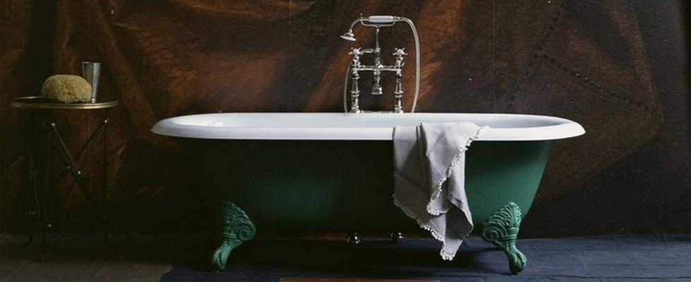 Drummonds and Martin BRUDNIZKI  Vintage Decor to remodel your luxury bathroom green drummonds1