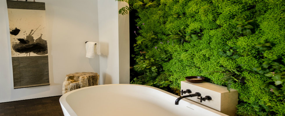 Stylish Bathroom Design Ideas to be in love nature