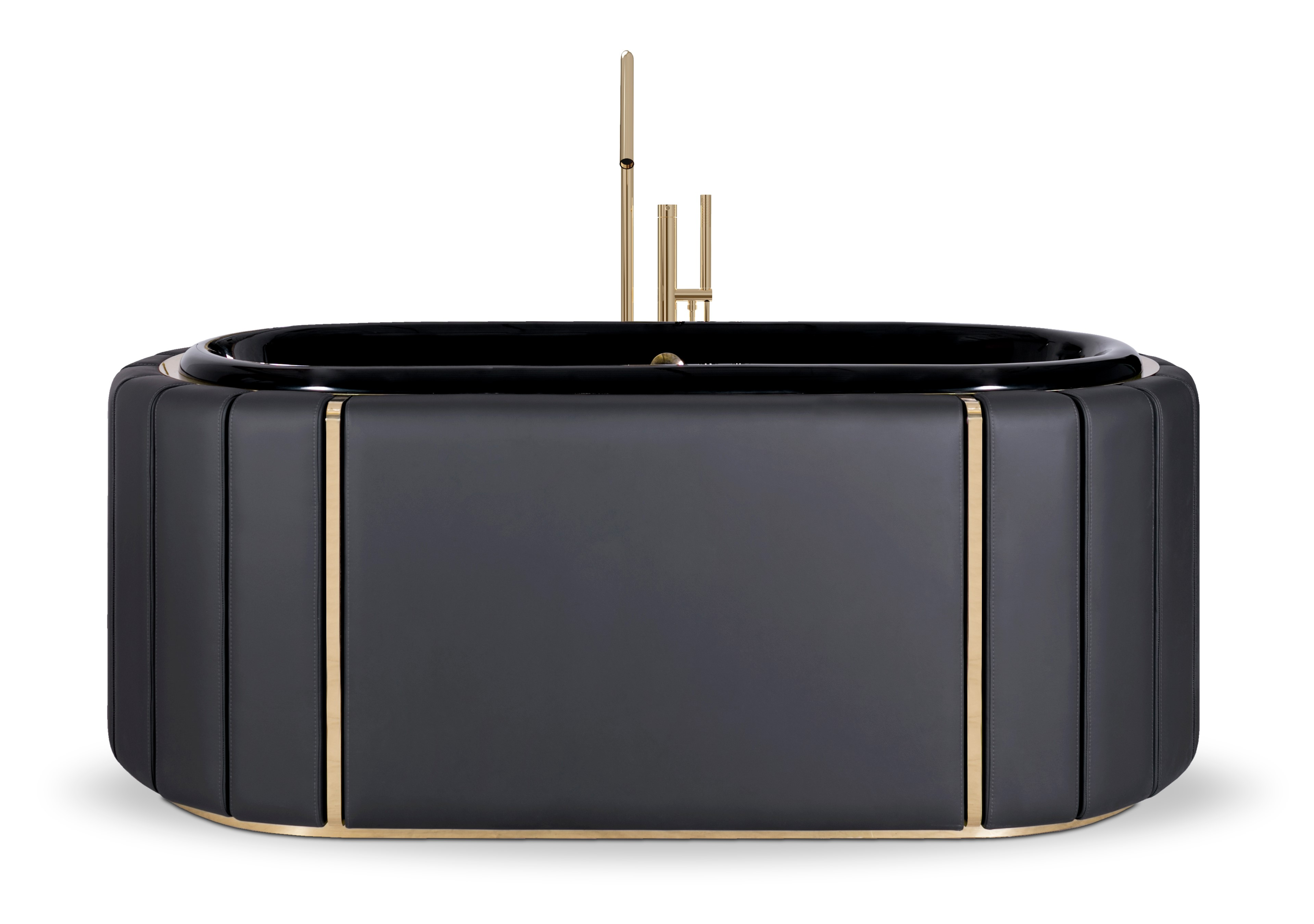 Black Bathtubs for Luxury Bathroom Ideas black bathtub darian bathtub 3
