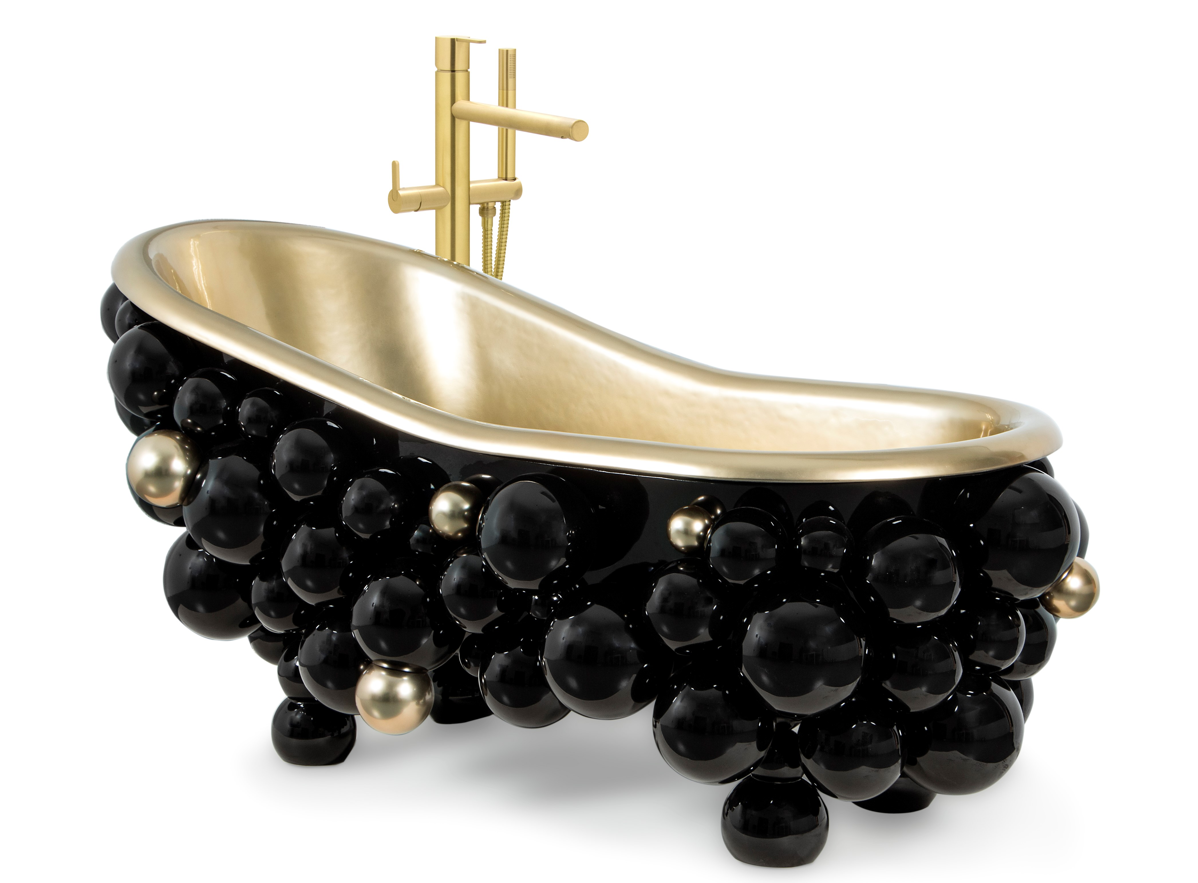 Black Bathtubs for Luxury Bathroom Ideas black bathtubs newton bathtub 2 1