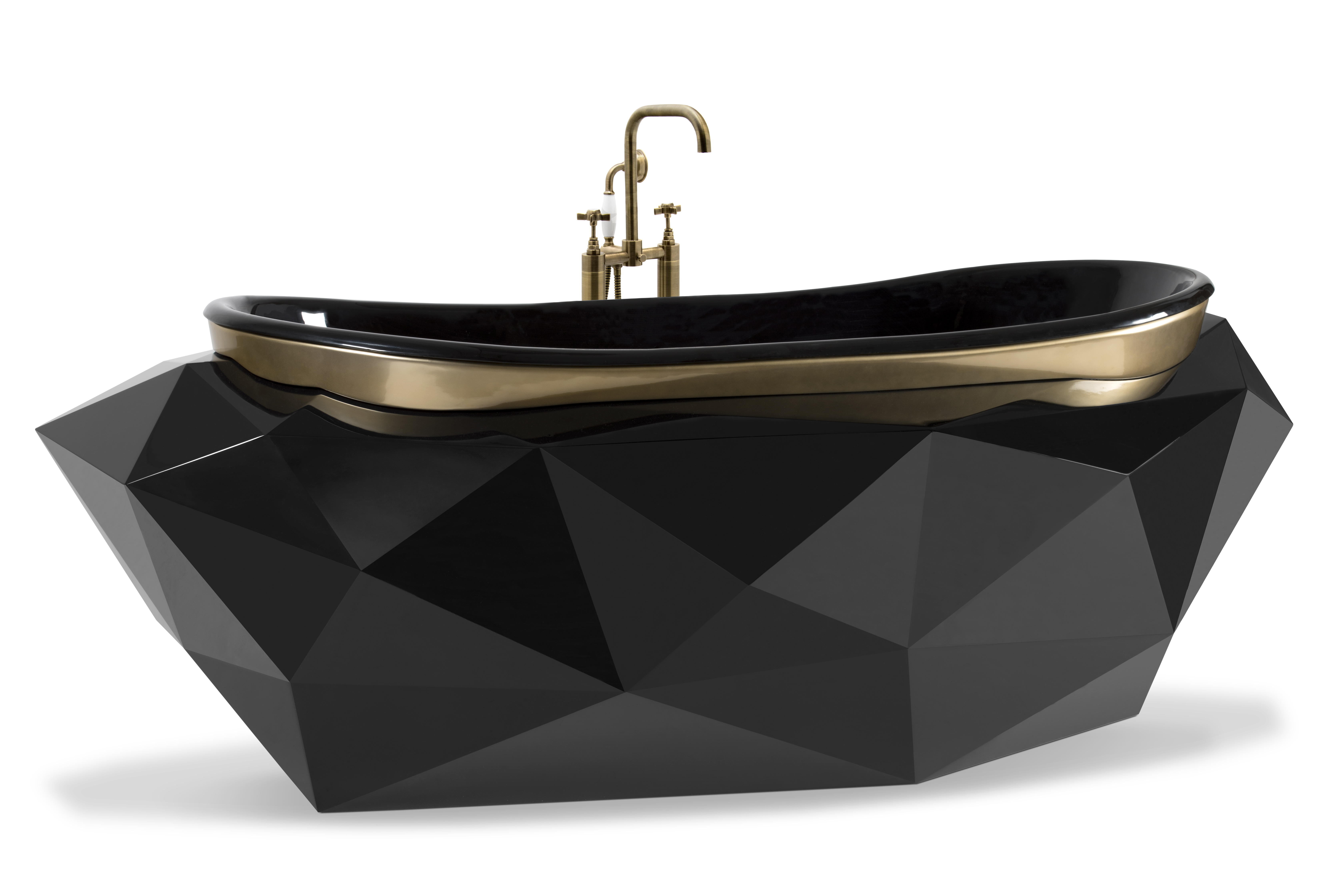 Black Bathtubs for Luxury Bathroom Ideas diamond bathtub black bathtubs