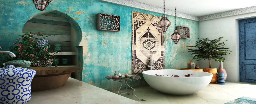fascinating moroccan style bathroom | Moroccan Style Bathroom Ideas with Exotic Indulgence