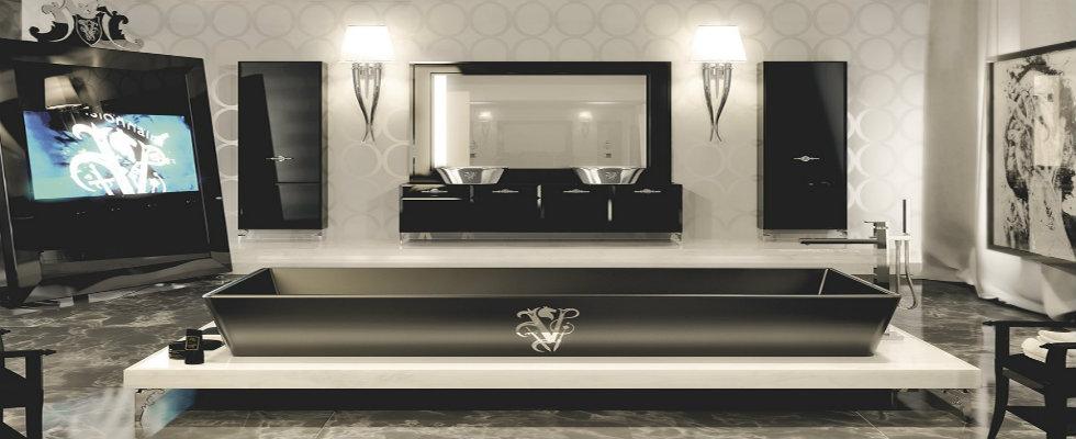 luxury bathroom BLACK BATHTUBS FOR LUXURY BATHROOM IDEAS feature