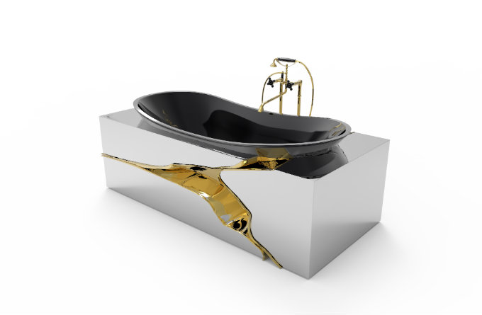 Sensory Experience, bathrooms, bathtub, virtual tour, maison valentina, product sensory experience 360º Sensory Experience – Discover the Best Bathrooms Through a Collection of Virtual Tours lapiaz bathtub Maison valentina luxury bathrooms at salone del mobile milan