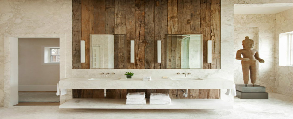 reclaimed wood Salvaged Style: Transform Your Bathroom with Reclaimed Wood feature wooden bathrooms