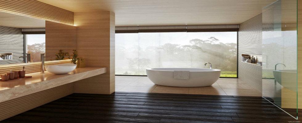 spa bathroom Luxury Spa Bathroom Ideas to Create your Private Heaven feature bath