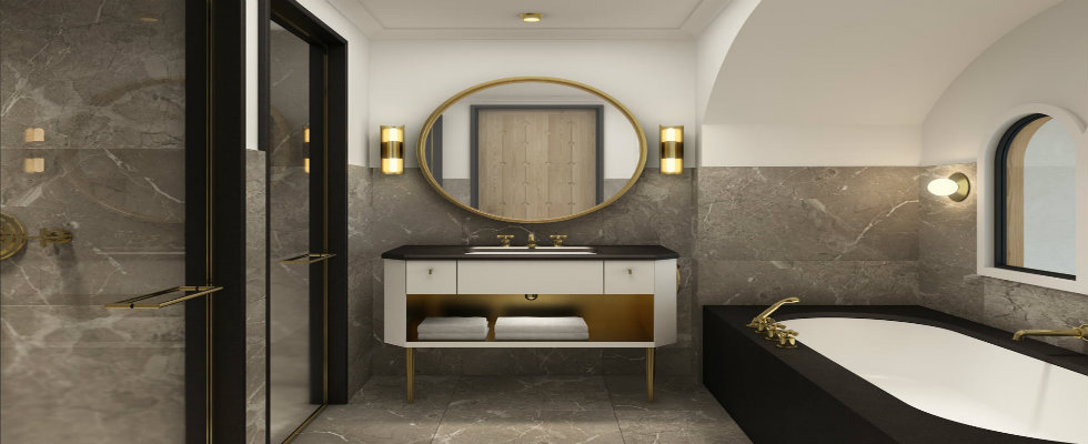 Best Interior Designers Ideas to create a Luxurious Bathroom Design david collins feature
