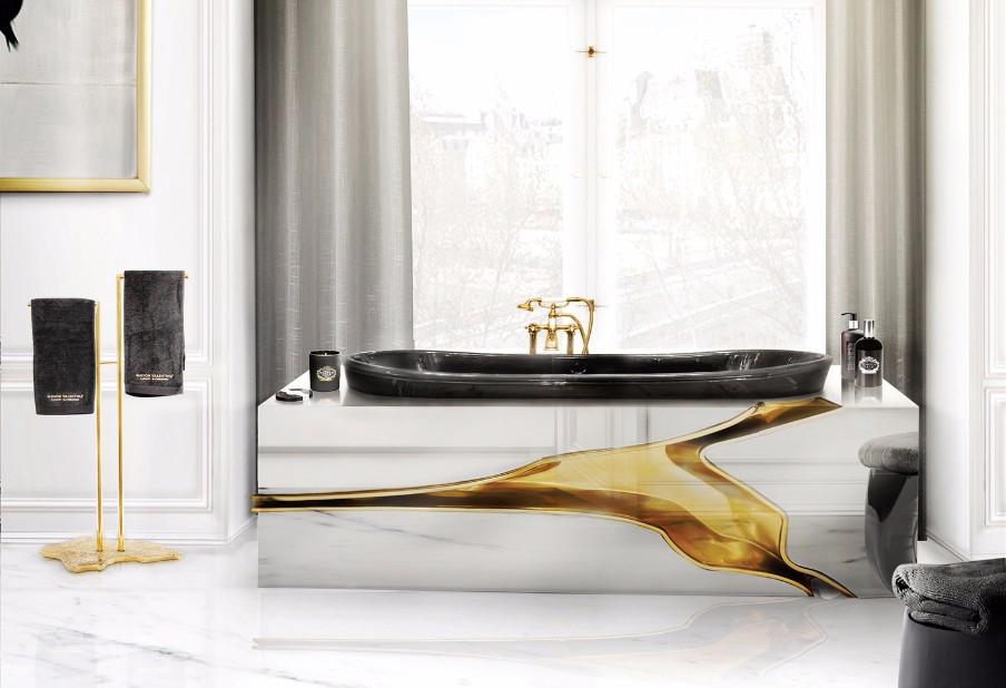 8 unique accessories that will transform your bathroom 8 Unique Accessories That will Transform Your Bathroom lapiaz freestanding bathtub maison valentina luxury