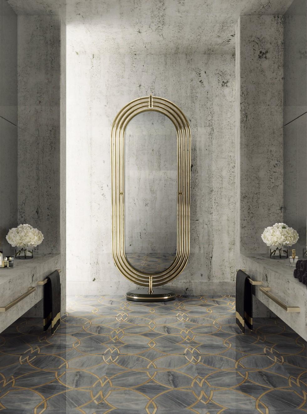 COLOSSEUM: THE ROTATING FLOOR MIRROR 22 colosseum floor mirror maison valentina HR