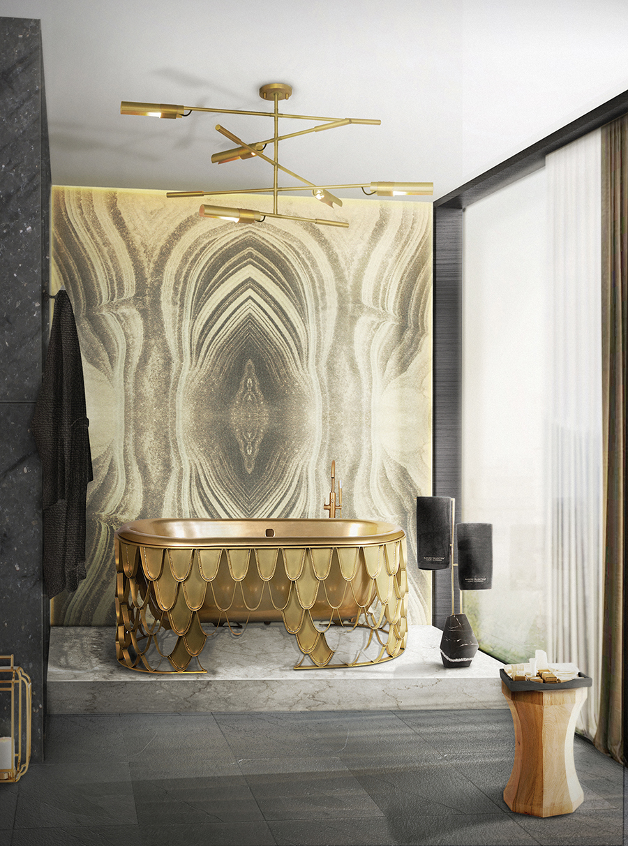 Opulent and Minimal Lighting Ideas for Your Bathroom Unique Collection of Stunning Bathtubs For Luxury Bathrooms 21