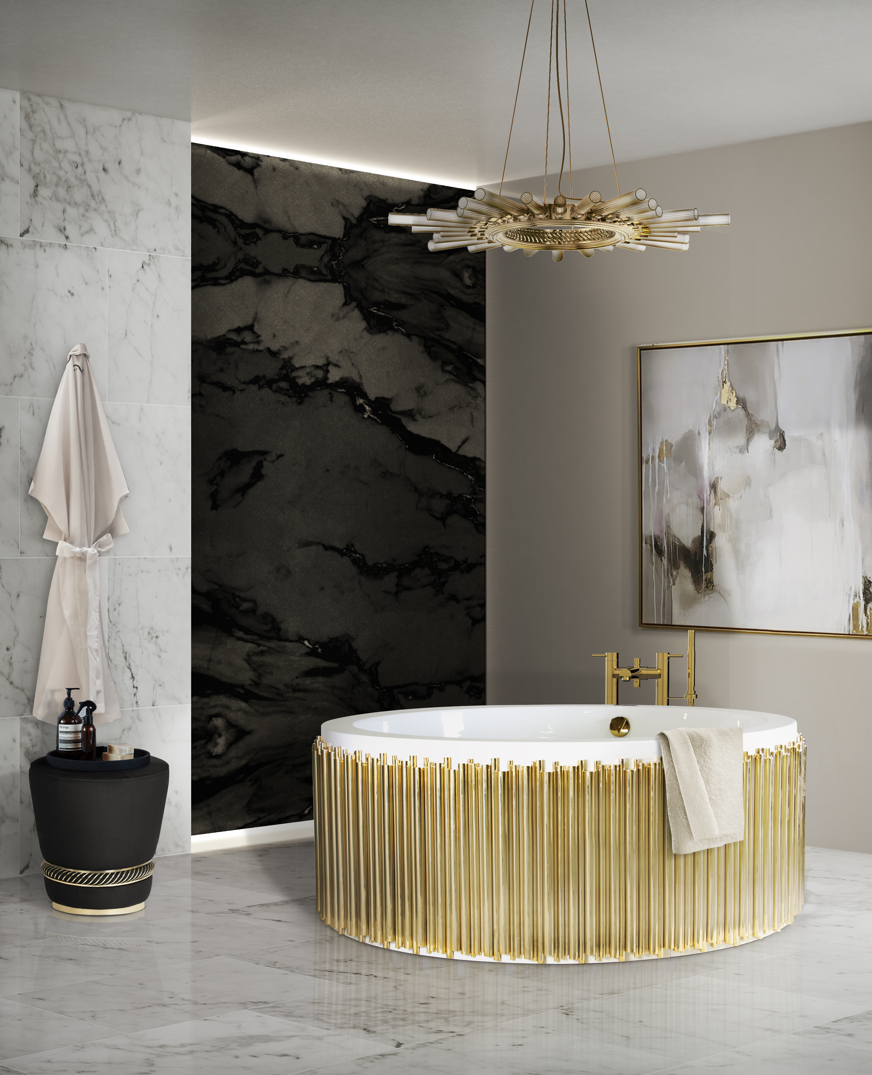 Maison Valentina Surfaces Maison Valentina Surfaces 27 symphony bathtub black paramount surface HR