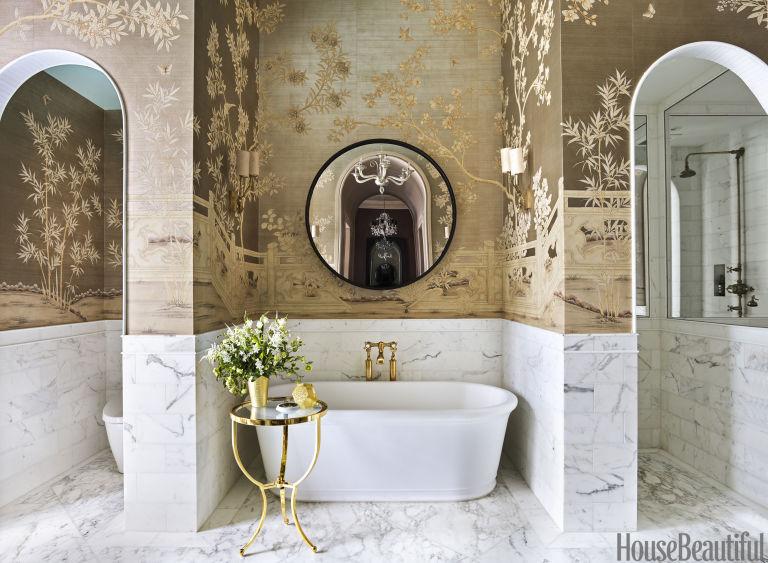Bathroom Tour: Luxurious Manhattan Bathroom Bathroom Tour: Luxurious Manhattan Bathroom gallery 1480436264 bathtub