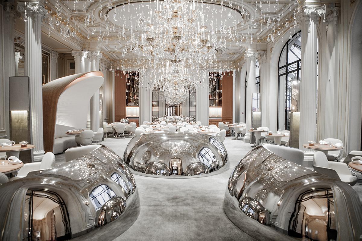 Lavish Restaurants in Paris Lavish Restaurants in Paris for 2018 alain ducasse au plaza athenee paris restaurant 1200 1