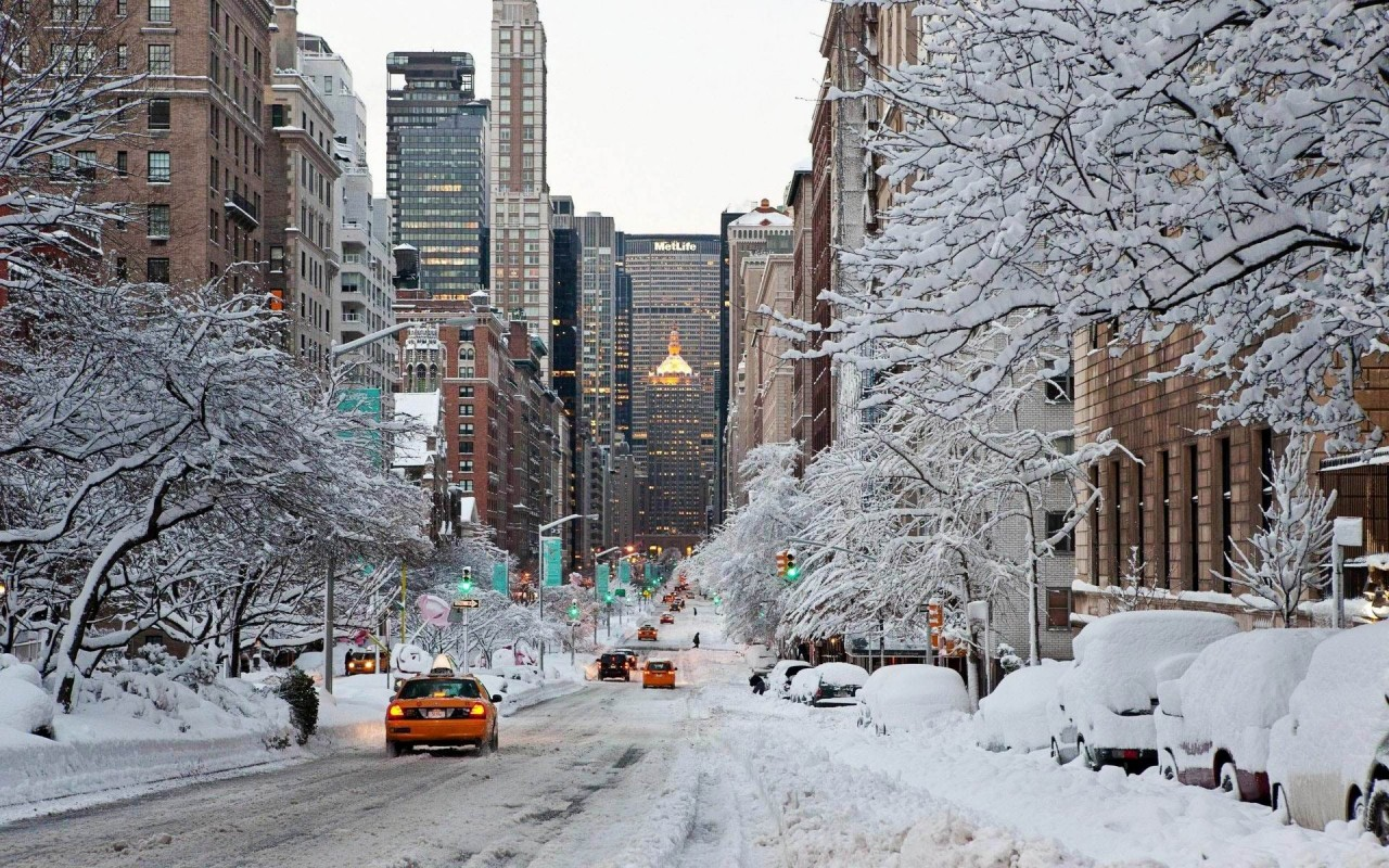 Best Cities to Visit this Winter Discover the Best Cities to Visit this Winter ny winter snow usa 800x1280