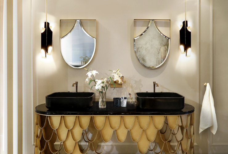 Bathroom Design Enhance Your Bathroom Design with Maison Valentina's Curated Mirrors featured 1