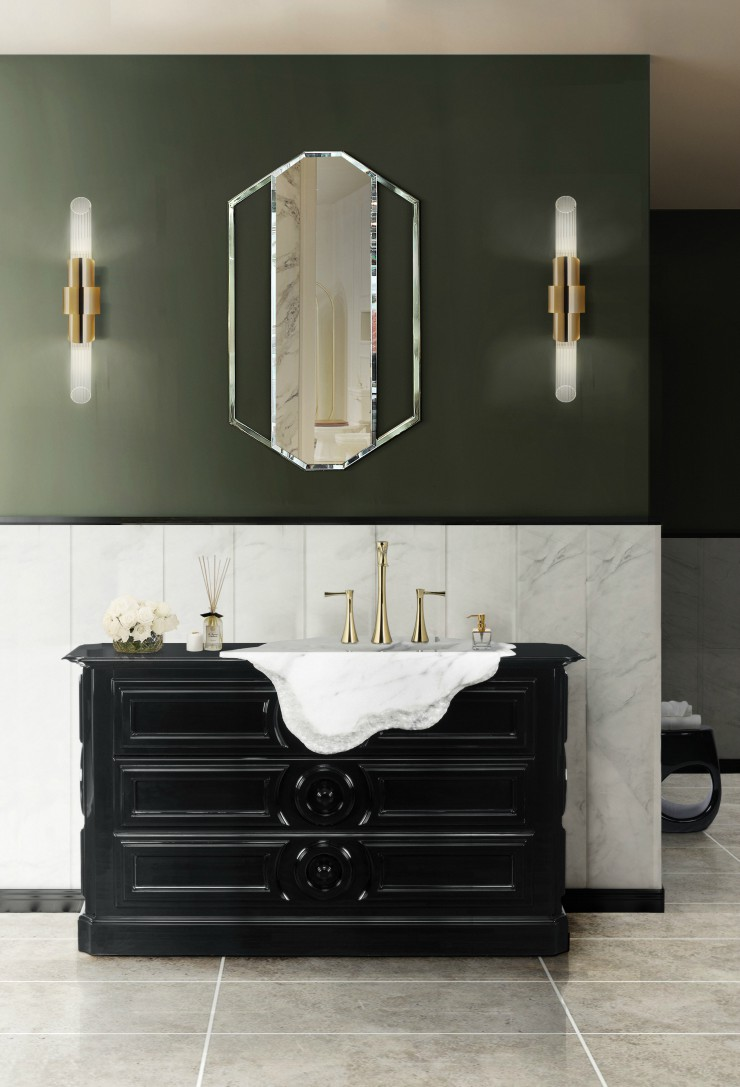 The Fantastic Collection of Mirrors from Maison Valentina 45 petra washbasin 1 HR