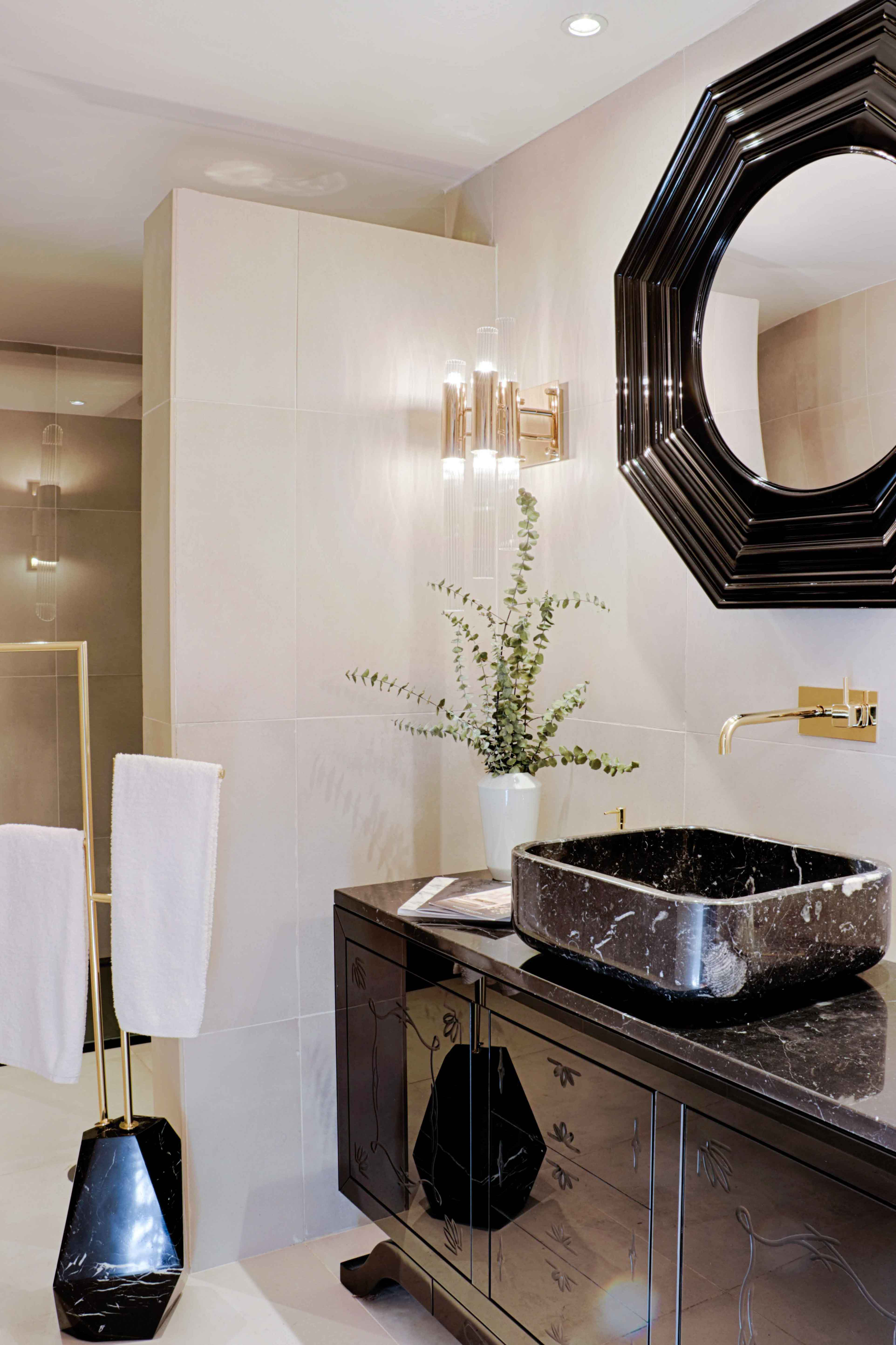 Golden and Luxurious Taps 4 Golden and Luxurious Taps for Any Bathroom 44 covet house bathroom 1 HR