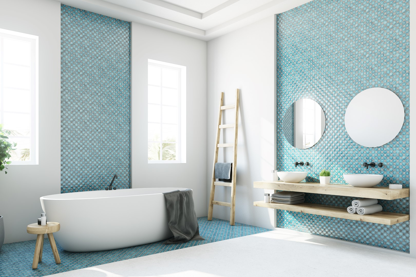 5 incredible tiles ideas 5 Incredible Tiles Ideas For Your Bathroom AdobeStock 173570437 denisismagilov