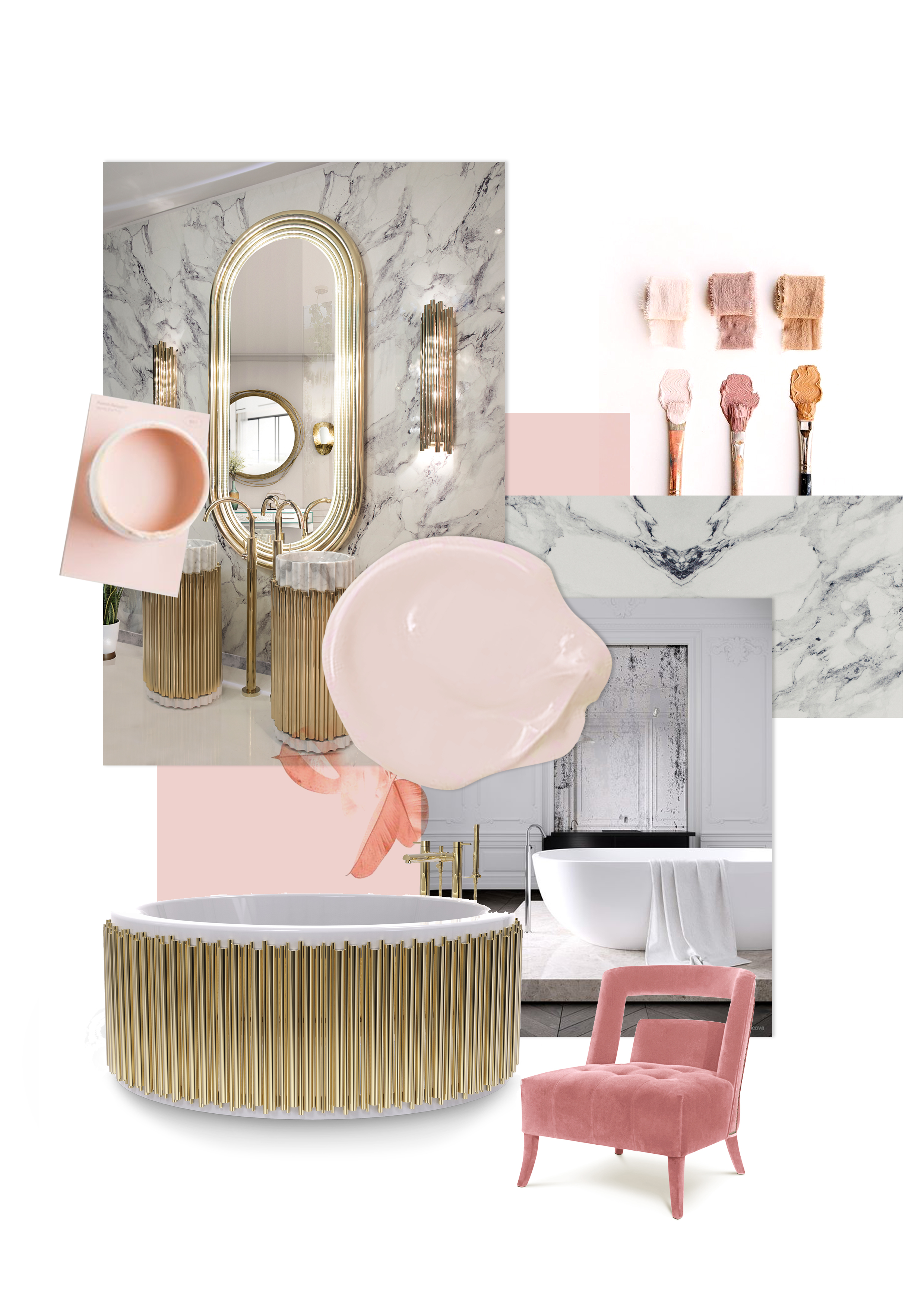 5 Inspirational and Colorful Moodboards for a Bathroom Makeover moodboard 11 HR