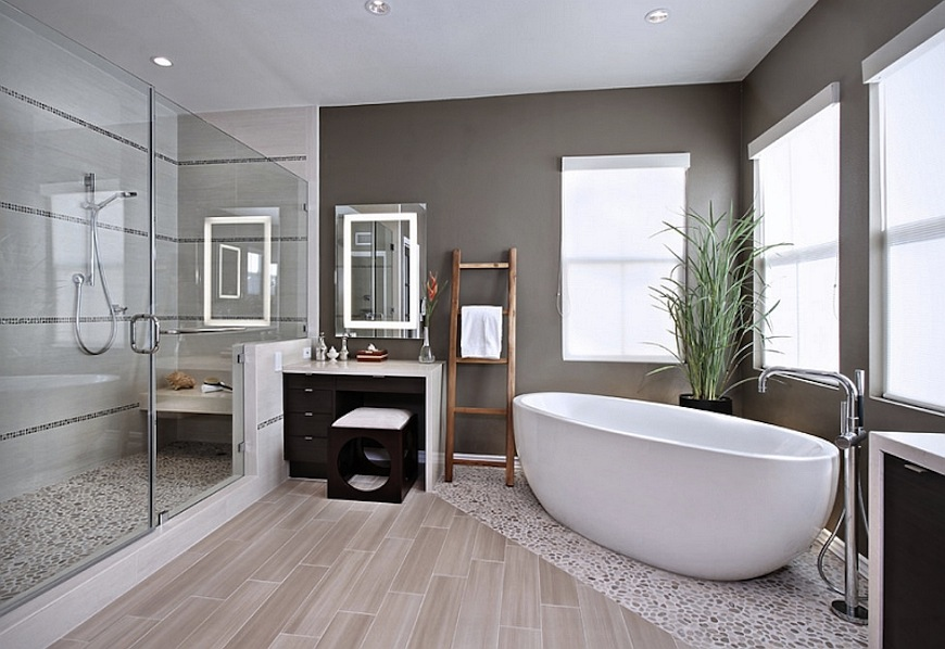 Fantastic Bathroom Ideas In Order To Achieve a Luxury Spa Trendy Bathroom Designs to Make Your Home Looks a Luxury Spa 1