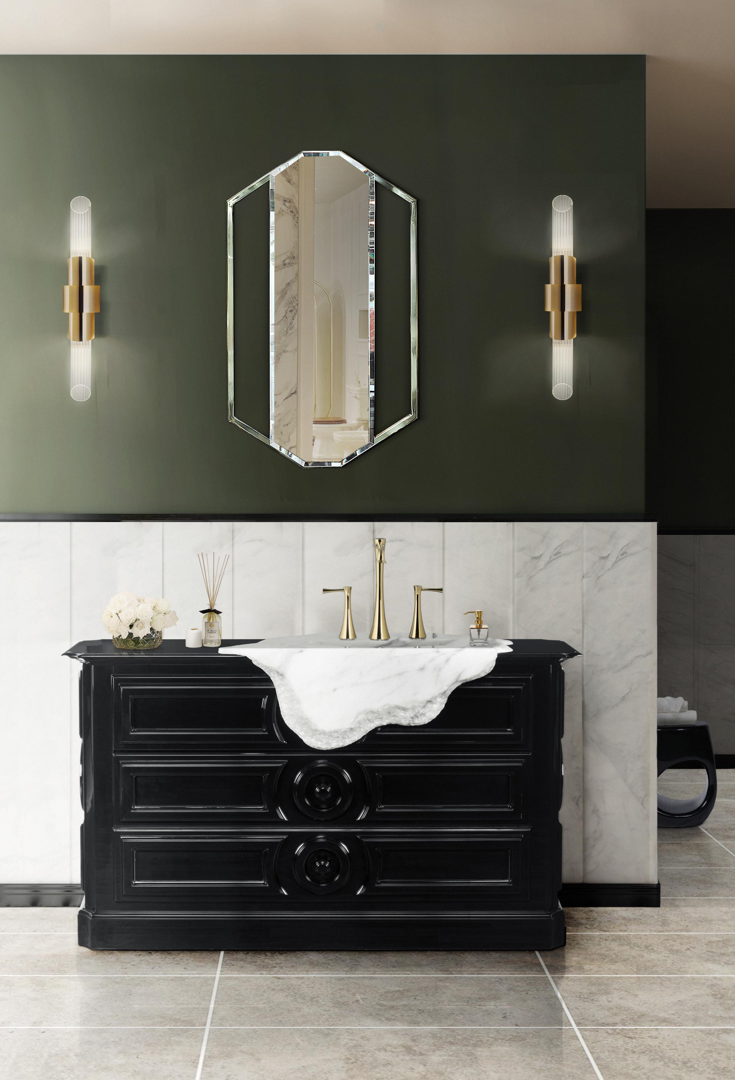 Petra Collection: Unveiling The Petra Freestand 45 petra washbasin 1 HR