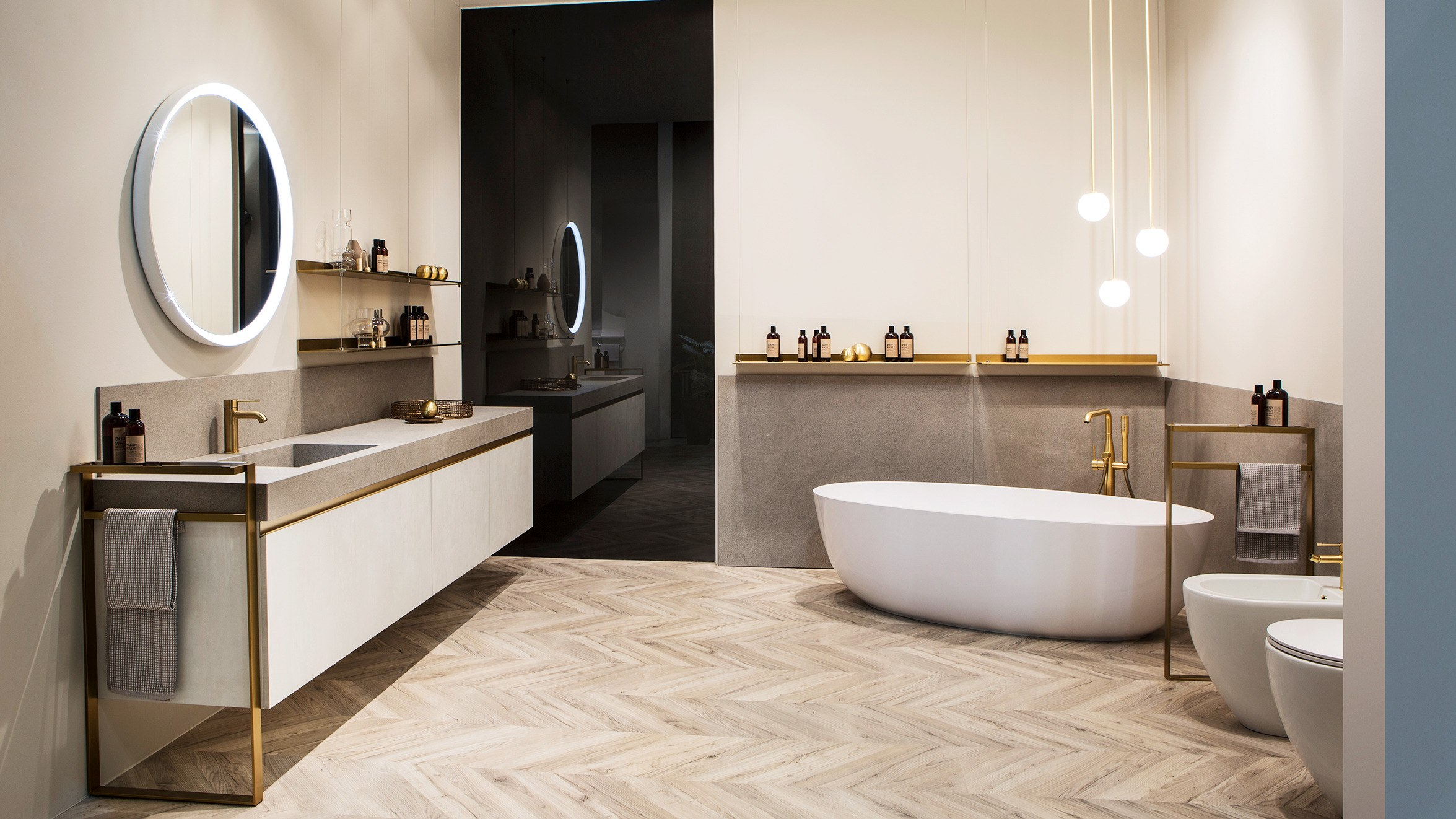 Bath Design Awards, Architectural Digest, Maison Valentina, Bathroom, interior design architectural digest Best of 2019: Great Bath Design Awards by Architectural Digest Total Transformation Scavioli