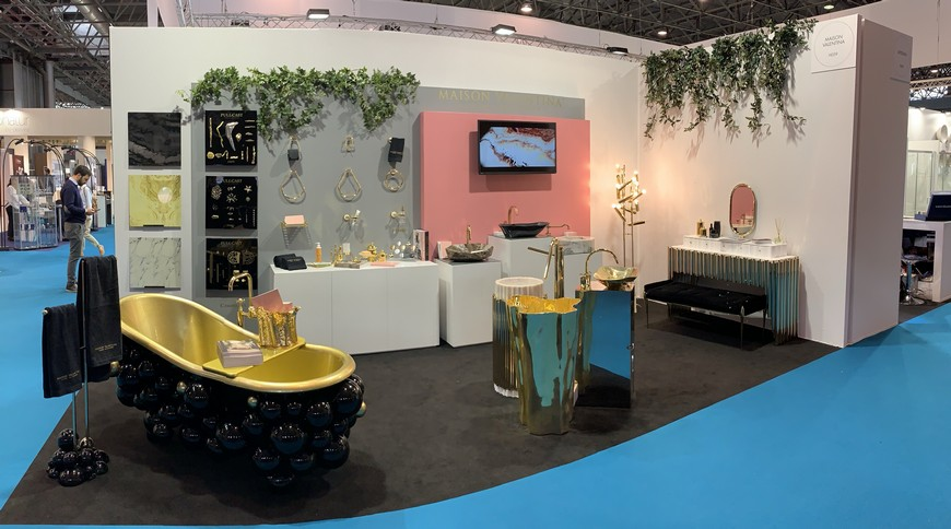 idéobain 2019 Top Luxury Bathroom Stand At Idéobain 2019: All the Details Here! See Which Is The Best Luxury Bathroom Stand At Id  obain 2019 capa