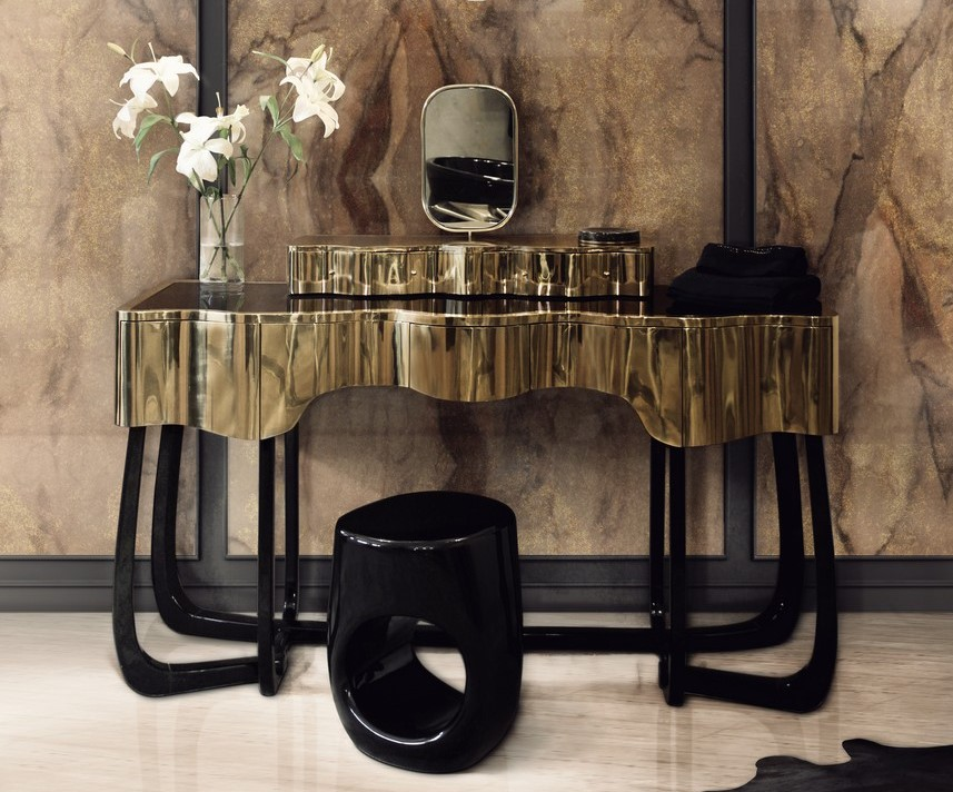 dressing table The Ultimate Guide to Build Your Closet: Pick the Best Dressing Table 10 Bespoke Dressing Tables To Glam Up Your Luxurious Walk In Closet 2