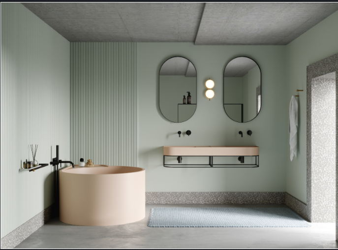 bathroom inspiration, maison et objet, antonio lupi, ex.t, bathroom brands, freestanding maison et objet Best Bathroom Inspirations Seen at Maison et Objet 2020 Nouveau