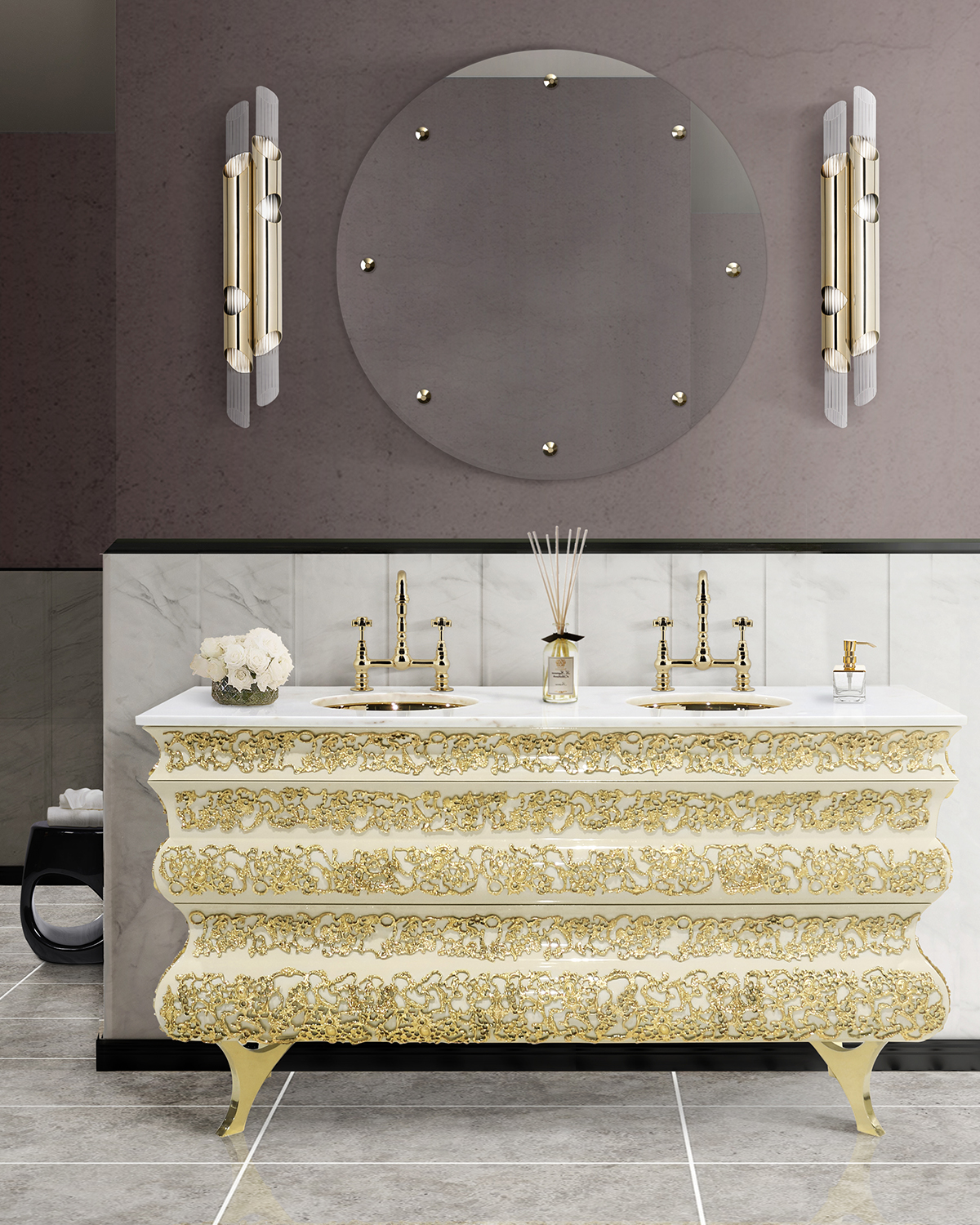 Beautiful Bathroom Paint Colors for Your Next Renovation  Beautiful Bathroom Paint Colors for Your Next Renovation 80 1