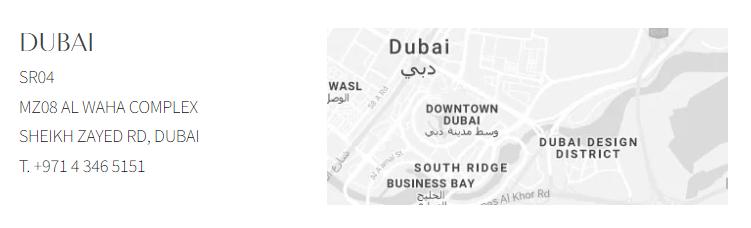 casa milano Casa Milano Takes Dubai's Luxury Bathroom Design Scene to a New Level Showroom Location
