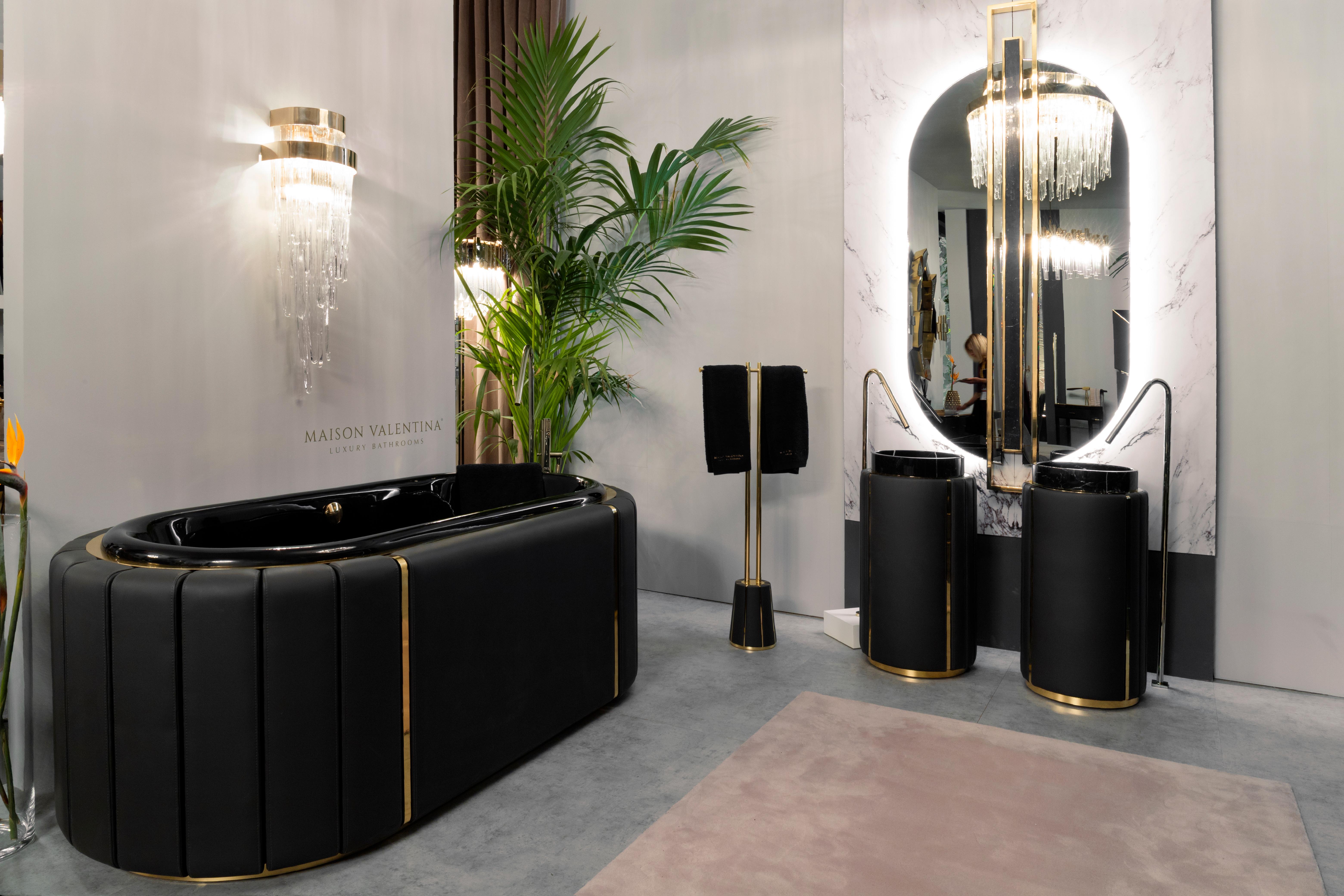 Darian Collection,bathtub, freestanding, bathroom, bathroom design, bathroom decor, leather darian collection Darian Collection – Daring Elegance and Sophistication to Your Bathroom Darian Bathtub