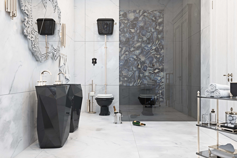 diff studio, bathroom, bathtub, design, designers, decoration, interior design diff studio Contemporary Meets Classic: Sophisticated Residential Project by Diff Studio project maison valentina 4 HR 1