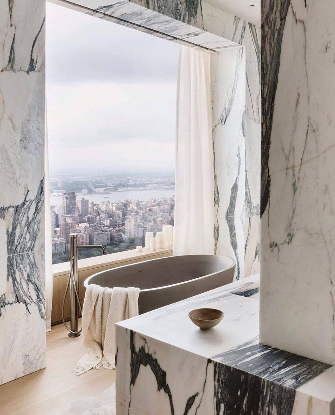Bathroom With a View, bathroom, view, design, bathtub, maison valentina, bathroom  Bathroom With a View: 7 Captivating Designs Julie Hilmans